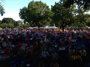 View From the Stage at the Dundalk Heritage Fair