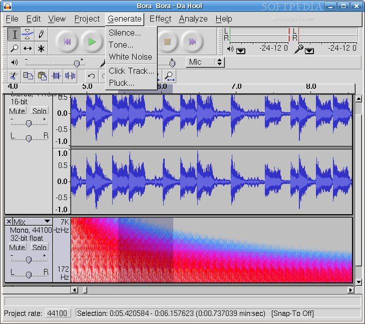 Audacity - Full-featured and FREE